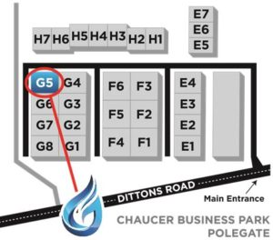 chaucer-business-park-gascomp-ltd-location